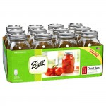 Caja 12 Frascos Mason Ball USA - 32oz.