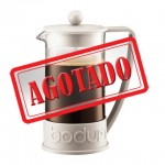 Cafetera French Press Brazil BODUM blanco