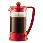 Cafetera French Press Brazil BODUM Rojo