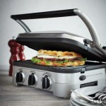 Panini Grill y Plancha Electrica Cuisinart