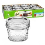 Caja 12 Frascos Mason Ball USA - 4oz.
