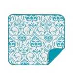 Tapete Escurridor Teal Damask