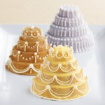 Molde de 6 Mini Pasteles Celebration - Nordic Ware USA